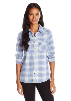 Billabong Juniors Flannel Frenzy Plaid Shirt