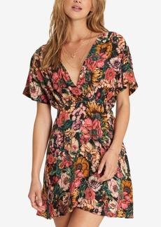 Billabong Juniors' Floral-Print Mini Dress