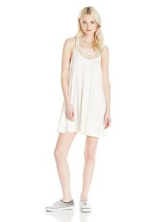 Billabong Junior's Great Views Macrame Knit Dress  M