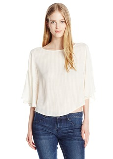 Billabong Junior's Heart Wants Flutter Sleeve Top