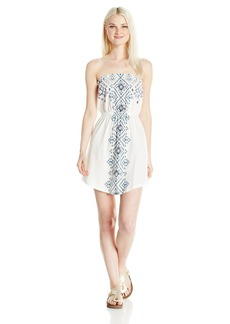 Billabong Junior's Here It IS Knit Bandeau Dress