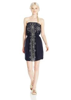 Billabong Junior's Here It IS Knit Bandeau Dress  M