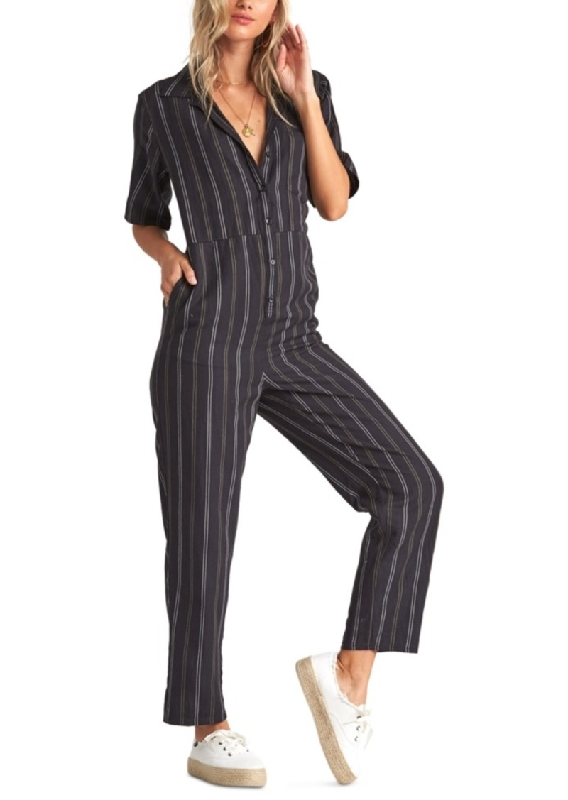 Billabong Juniors' Hit The Highway Striped Jumpsuit
