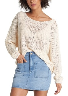 Billabong Juniors' Lace-Up Sweater