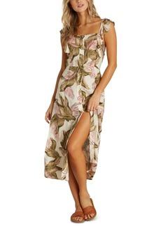 Billabong Juniors' Love Tripper Ruffled Midi Dress