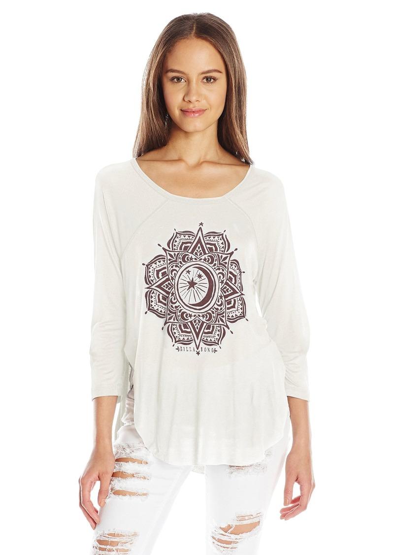 Billabong Juniors Midnight Medallion Graphic T-Shirt