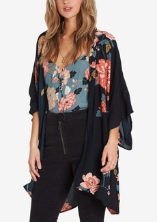 Billabong Juniors' Moon Dream Floral-Print Kimono