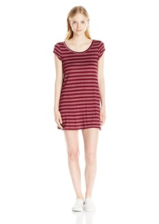 Billabong Juniors Moon Shadow Tee Dress with Open Back