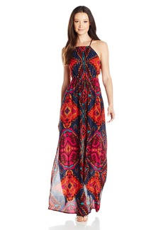 Billabong Juniors Native Sands Printed Maxi Dress  M