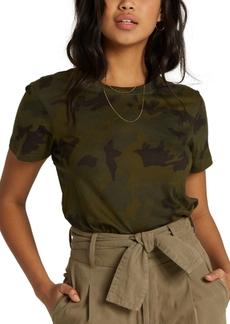 Billabong Juniors' New Soul Babe Cotton Floral-Print T-Shirt