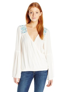 Billabong Junior's New Ways Woven Long Sleeve Top