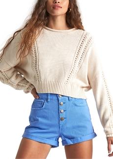 Billabong Juniors' Night Falls Cropped Sweater