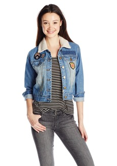 Billabong Junior's Patched Love Denim Jacket