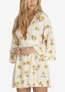 Billabong Juniors' Relax On High Printed Wrap-Front Dress