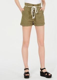 Billabong Juniors' Rope-Belt Paperbag Shorts