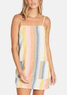 Billabong Juniors' Straight Around Striped Slip Dress