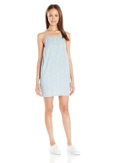 Billabong Juniors Sun Swept Shores Chambray High Neck Dress