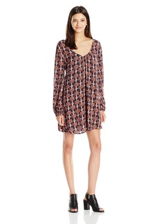 Billabong Juniors Sweet Sands Printed Shift Dress