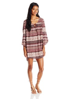 Billabong Juniors Take Me Away Printed Shift Dress