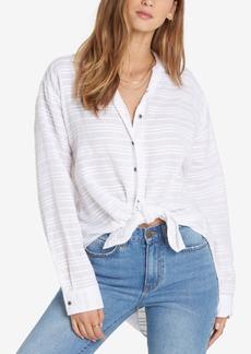 Billabong Juniors' Textured High-Low Shirt