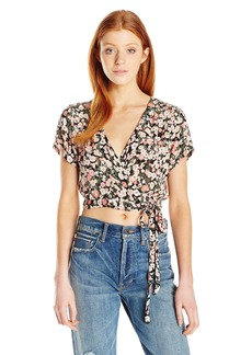 Billabong Junior's Thats a Wrap Cropped Top