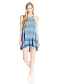 Billabong Juniors Through the Palms High Neck Stripe Dress
