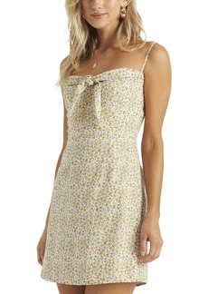 Billabong Juniors' Tie-Front Mini Dress