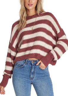 Billabong Juniors' Till Sunset Cotton Cropped Sweater