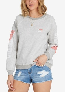 Billabong Juniors' Two Tone Logo Graphic Sweatshirt