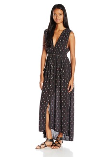 Billabong Juniors Voyager Maxi Print Dress  M