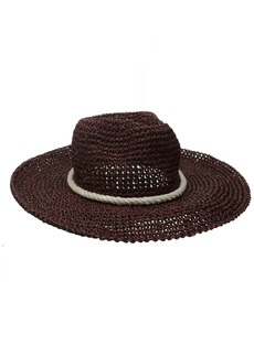 Billabong Junior's Waterloo Rail Straw Boho Hat