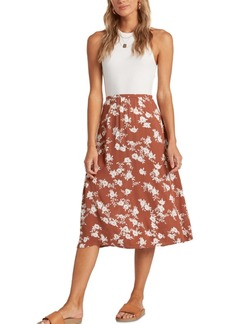 Billabong Juniors' Wild And Free Midi Skirt