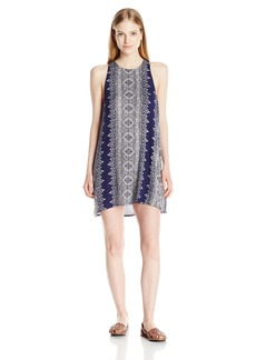 Billabong Junior's Wild Sun Sleeveless Swing Dress Starry Night