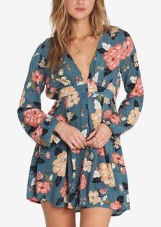 Billabong Juniors' Your Love Printed Button-Front Dress