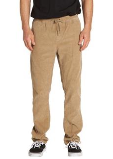 Billabong Larry Layback Corduroy Drawstring Pants