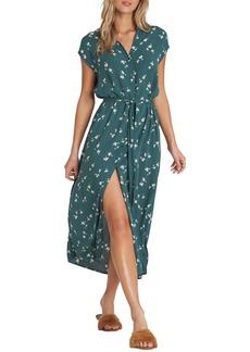 Billabong Little Flirt Cap Sleeve Midi Dress