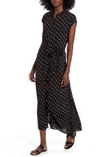 Billabong Little Flirt Print Midi Dress