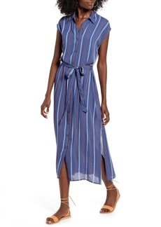 Billabong Little Flirt Print Midi Dress