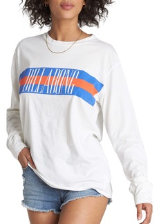 Billabong Love Strong Graphic Long Sleeve Tee