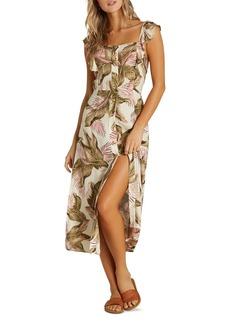 Billabong Love Tripper Palm Print Dress