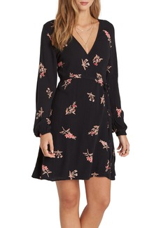 Billabong Love Warrior Wrap Dress