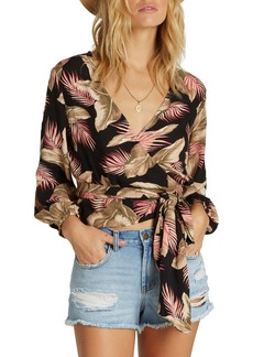 Billabong Love Wrapped Crop Top