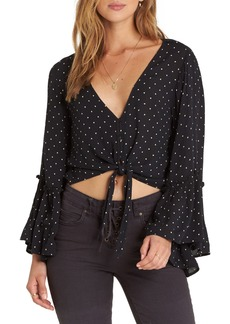 Billabong Lust Wild Tie Hem Crop Top