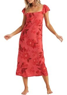 Billabong Making Waves Floral Midi Dress