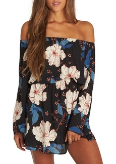 Billabong Marked for More Off the Shoulder Dress