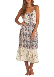 Billabong Meadow Dew Print Midi Dress