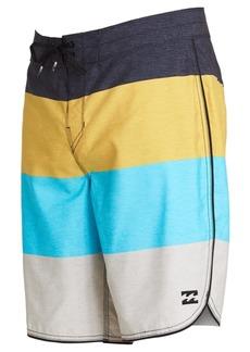 """Billabong Men's 73 Og Stripe 19"""" Board Shorts"""