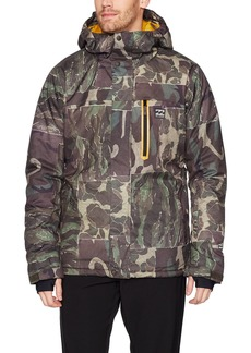 Billabong Men's All Day Snowboard Jacket camo S