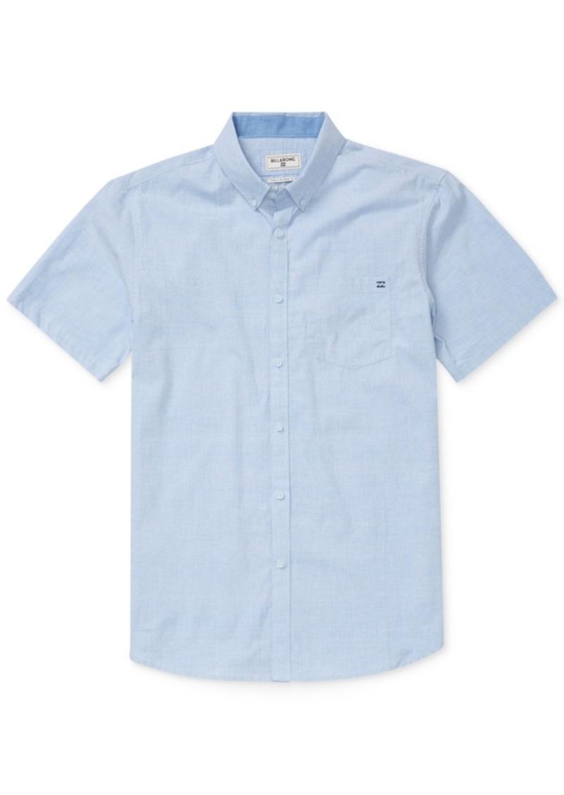 Billabong Men's All Day Chambray Short-Sleeve Shirt