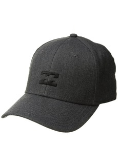 Billabong Men's All Day Heather Stretch Fit Hat Dark Grey S/M